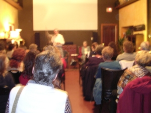 Demonstration of Trance Mediumship, Penticton, Okanagan